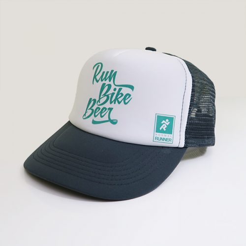 Casquette run bike beer