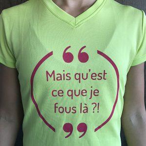 T-shirt Femme WTF