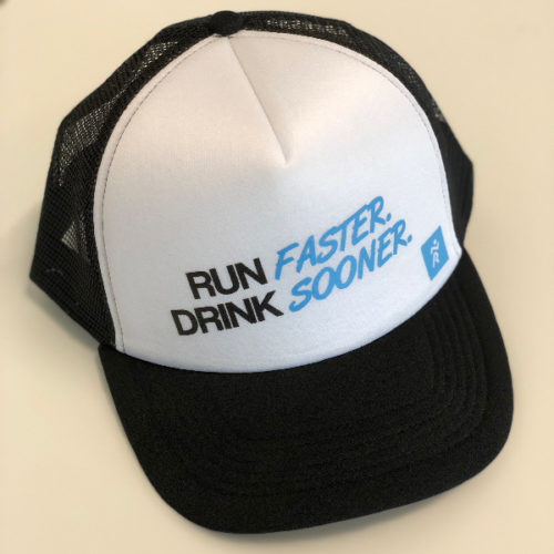 Casquette Run Faster Drink Sooner