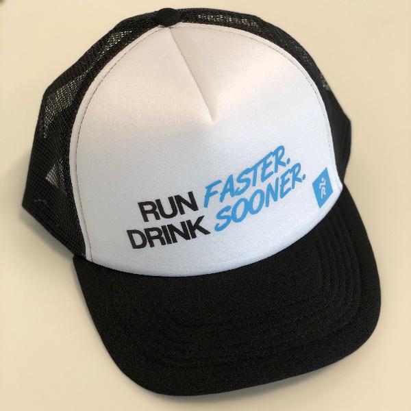 Casquette Run Faster Drink Sooner