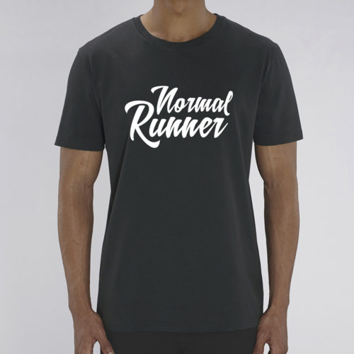 T-shirt Normal Runner Noir