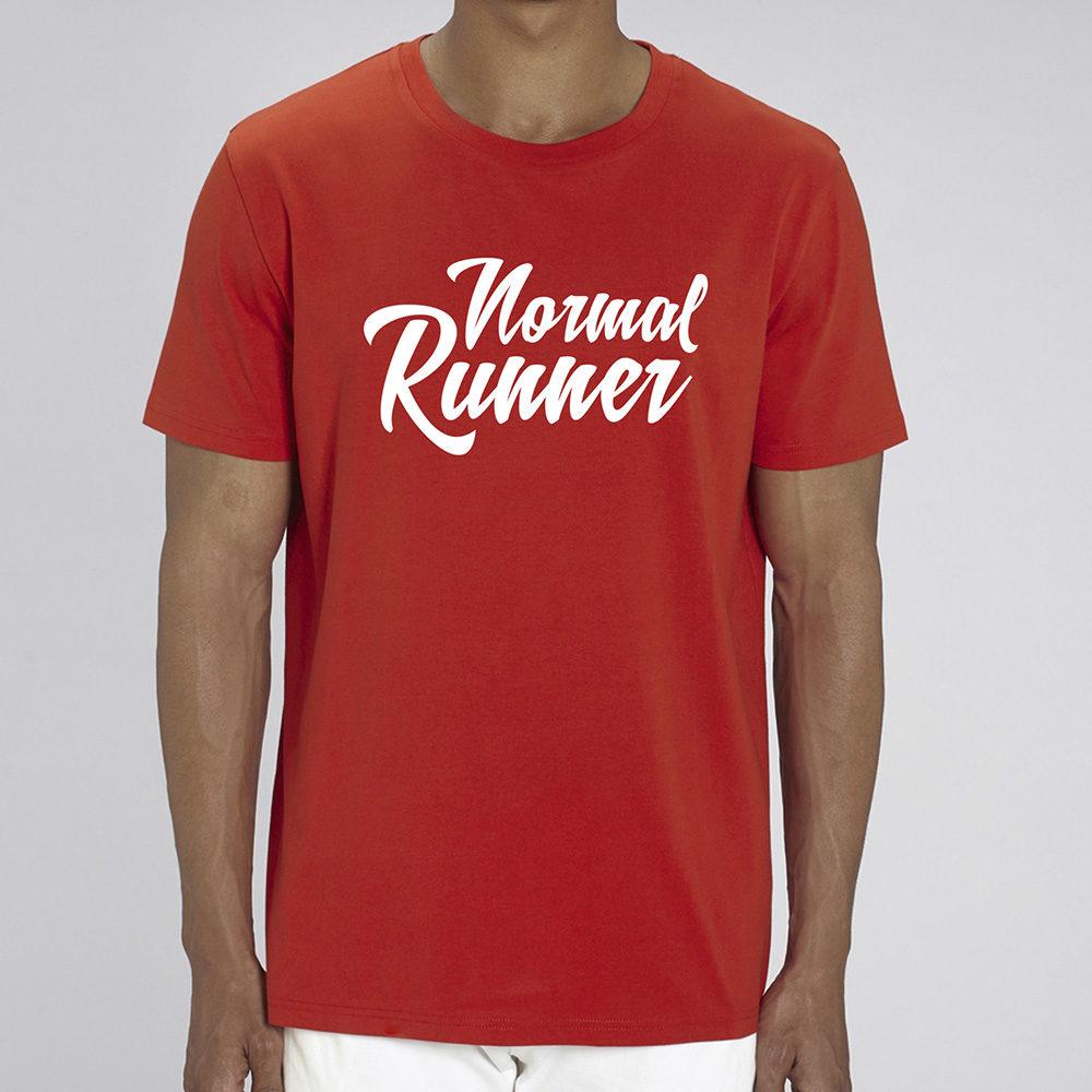 T-shirt Normal Runner Rouge